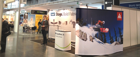 The art of transporting a complete exhibition stand …