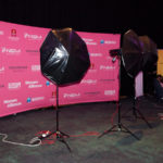 Women's Entrepeneurship Day. Stage photo backdrop