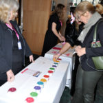 Women's Entrepeneurship Day. Showing your interest for the day with the stickers.